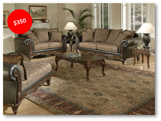 Luxury Living Room Set - HAU Furniture