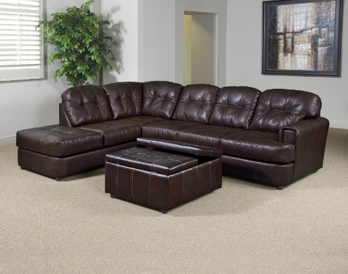 Eastern Chocolate Sectional