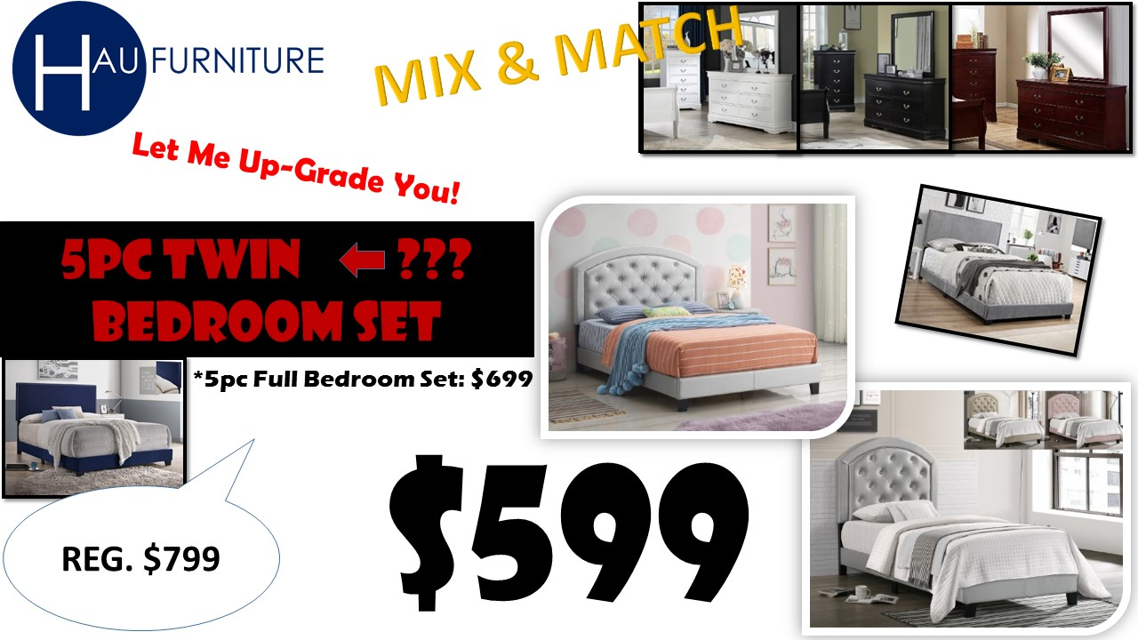 Twin Mix & Match Deal $599