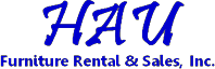 Logo, HAU Furniture Rental & Sales, Inc. - Home Furniture