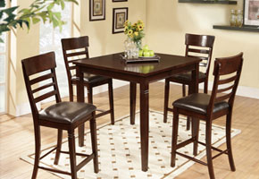 Brown Dining Room Set - HAU Furniture
